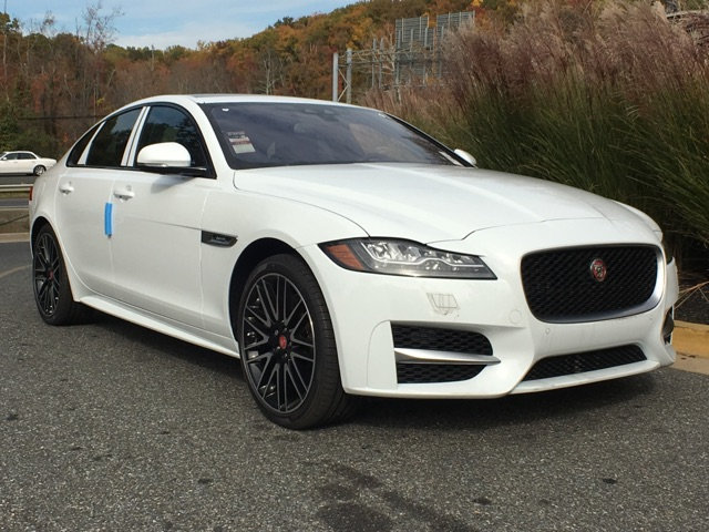 New 2018 Jaguar XF 35t R Sport AWD 4 Door Sedan in Annapolis J