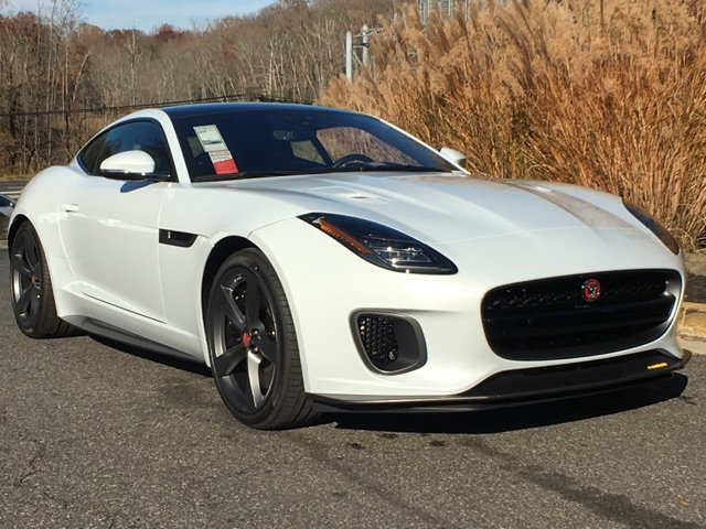 New 2018 Jaguar F TYPE F TYPE 400 CPE CPE AT 400 SPORT AWD 2 Door
