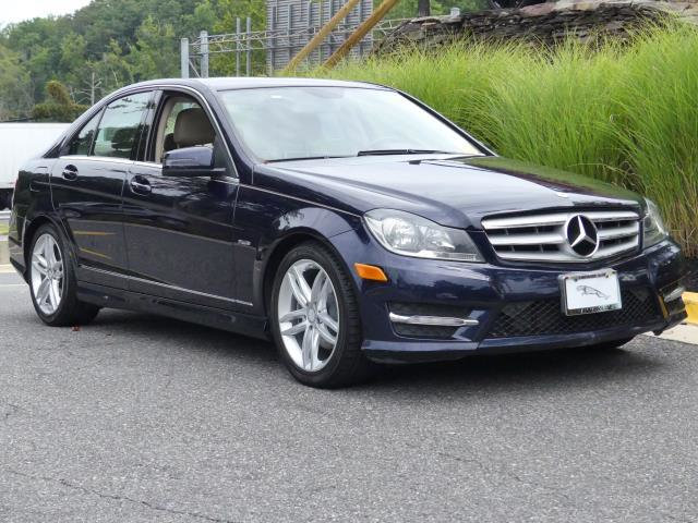 Pre-Owned 2012 Mercedes-Benz C-Class 4dr Sedan C 250 Sport RWD