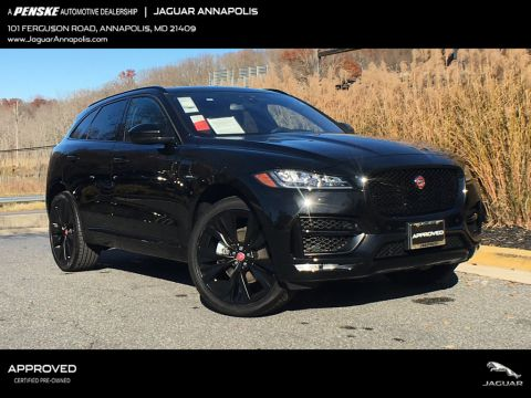 Certified Pre-Owned 2018 Jaguar F-PACE 30t R-Sport AWD