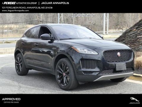 Certified Pre-Owned 2018 Jaguar E-PACE P250 AWD SE