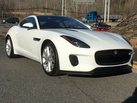 New 2019 Jaguar F-TYPE Coupe Automatic P300