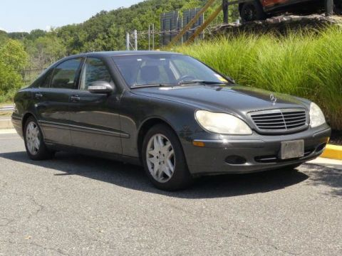 Pre-Owned 2003 Mercedes-Benz S-Class S430 4dr Sedan 4.3L